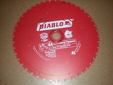 Freud D1244X Diablo 12-Inch 44 Tooth ATB General Purpose Miter Saw Blade with...
