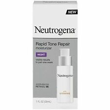 Neutrogena Rapid Tone Repair Night Moisturizer 1 fl oz  NEW