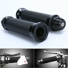 "7/8"" Hand Grips W/ Bar End Handlebar Cafe Racer Bobber Clubman Custom Motorcycle"