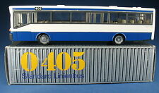 NZG 372-Mercedes-Benz inaccesibles o 405-azul-blanco - 1:50 - en OVP-bus coach