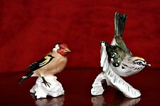 Two Vintage German GOEBEL Birds Porcelain Figurines