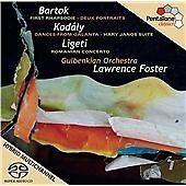 Bartók: First Rhapsodie; Kodály: Dances from Galanta; Ligeti: Romanian...