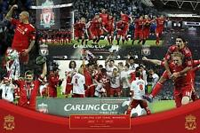 Liverpool FC Cup Winners 2012 - Maxi Poster 61cm x 91.5cm (new & sealed)