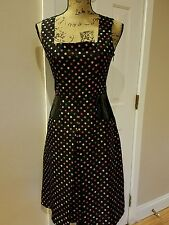 Cynthia steffe silk dress short small polka dot office dinner