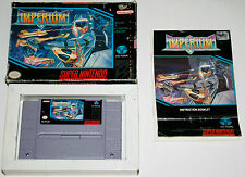 Super Nintendo Snes Spiel Imperium and OVP CIB BOX Top collection Sammlung RAR