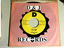 WARD ALLEN~ MAPLE SUGAR~ BACK UP AND PUSH~ BOPPER ~ ~COUNTRY~ INSTRUMENTAL 45
