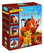 The Lion King Trilogy 1-3 [Blu-ray] 1 2 3 BoX Trilogy Jonathan Taylor Thomas DNY