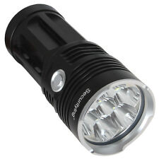 SecurityIng 8500LM 7x CREE XM-L2 Super Bright Waterproof LED Flashlight Black