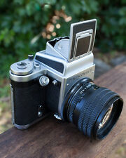 penacon six tl (custom one of a kind) with 80mm f1.9 lens