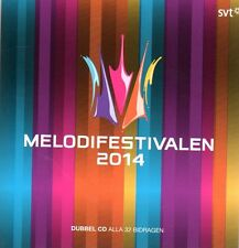2 CD Melodifestivalen 2014,Eurovision Song Contest Schweden Sweden pre-selection