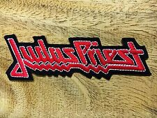 Judas Priest Embroidered Sew Iron On Patch Heavy metal Band Badge DIY