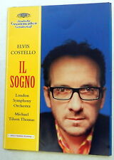 ELVIS COSTELLO Il Sogno UK PROMO PRESSKIT w/ CD Deutsche Grammaphon 2004