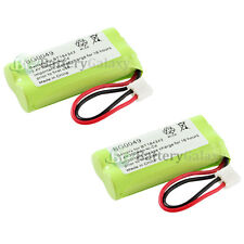 2 Cordless Home Phone Rechargeable Battery 350mAh NiCd for Uniden BT-101 BT-1011