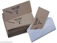 10 - Self Adhesive Corrugated #10 Envelope Product Protection Mailers Coin FREE