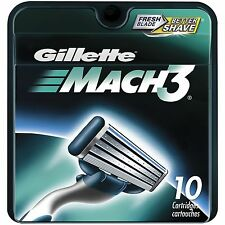 Gillette MACH3 Refill Cartridges 10 ea