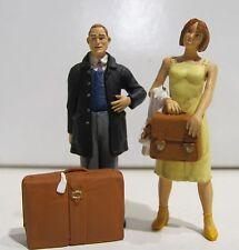Preiser 45149 Wartende Reisende (2 Figuren) für Spur G NEUWARE mit OVP