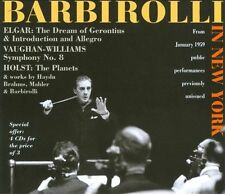 SIR JOHN BARBIROLLI IN NEW YORK USED - VERY GOOD CD