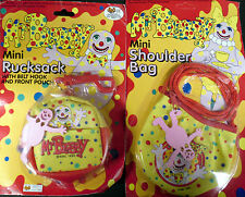 Mr Blobby Mini Shoulder Bag And Blobby Rucksack bag Brand New in Packet