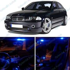 Ultra Blue Interior LED Package For BMW 3 Series E46  1999-2005 (9 Pieces) #438
