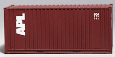 Walthers HO 20' Ribbed-Side Container - Assembled (APL) #933-2021