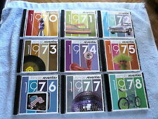 LOT OF 9 - Ultimate Seventies: 1970-78 by Various Artists (CD, 2006, Time/Life)