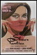 SHEER PANTIES Movie POSTER 27x40 John Holmes Annette Haven