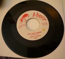* MARIE GLADNESS Cops And Robbers/I'm Anxious ABNER Demo RARE SOUL R&B  EX