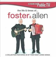 The Life and Times of Foster & Allen by Foster & Allen (CD, Mar-2005, DPTV...