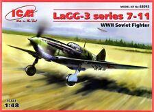 LAVOCHKIN LaGG 3 SERIE 7-11 (SOVIET AF SUMMER & WINTER CAMO) 1/48 ICM
