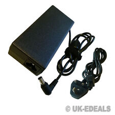 LAPTOP CHARGER FOR SONY VAIO VGP-AC19V20 VGN-NR38E VGN-NR38M + LEAD POWER CORD