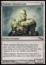 MTG SOLEMN SIMULACRUM EXC - SIMULACRO SOLENNE - MRD - MAGIC
