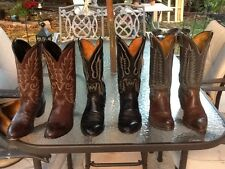 3 Pair of Cowboy Western Boots Mens Size 9 EE 2E Extra Wide