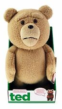 """TED 1 Bear 16"""" Plush with Sound and Moving Mouth Limited Quantity Free Shipping"""