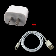 AU Plug USB Wall Charger Power Adapter w/ Cable for iphone 6 Plus/6/6S/5S/5 ipad