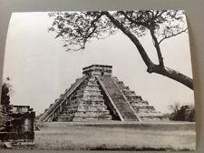 PHOTO MEXIQUE : TEMPLE , PYRAMIDE - Format 24x18cm