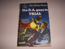 THE D.A. GOES TO TRIAL by ERLE STANLEY GARDNER, POCKETBOOK #407, 5TH, 1948, PB!