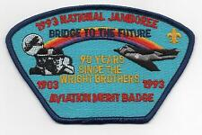 1993 National Jamboree, Aviation MB Staff JSP, Blue Brd., Mint!