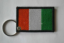 Irland Flagge Maschine Bestickt Schlüsselring Bestickt Irisch Schlüsselanhänger