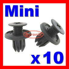 BMW MINI FRONT REAR INNER WHEEL ARCH LINER SPLASHGUARD TRIM CLIPS LINING