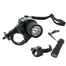 9 Led Front BIike Lamp Bicycle Cycle Light Torch Mountain Bike Flash Head Light