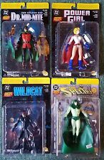 DC DIRECT LOT JUSTICE SOCIETY OF AMERICA POWER GIRL SPECTRE HOURMAN WILDCAT R17
