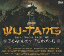 Soundtracks from the Shaolin Temple [PA] [Slimline] by Wu-Tang Clan (CD,...