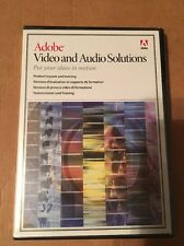 adobe video and audio solutions