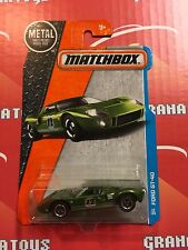 Ford GT-40 #23 Green 2017 Matchbox Case B