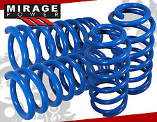 "1979-2004 FORD MUSTANG JDM 1.5"" SUSPENSION LOWERING SPRING BLUE SET"