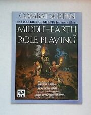 MERP # 8001 COMBAT SCREEN/REFERENCE SHEETS Middle-earth Role Playing, ICE