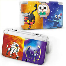 POKEMON SUN AND MOON Hard Case Cover For OLD STYLE NINTENDO 3DS XL