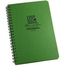 """Rite in the Rain 973 All-Weather Universal Notebook, Green, 4 5/8"""" x 7"""""""