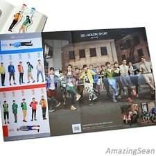 EXO Big Poster + Photo Bookmark, EXO M, EXO K Photos, EXO Pocket Photo, KPOP