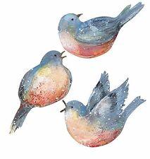 25 Bluebirds Blue Bird Border Decal Stickers Wallies Wallpaper Cutouts Wall Deco